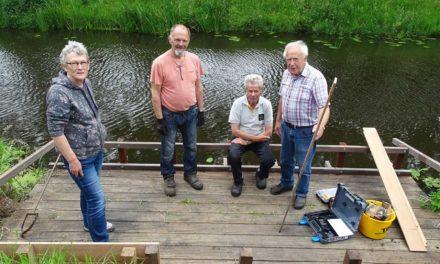 Dorpsteam Geesbrug maakt het dorp nog mooier