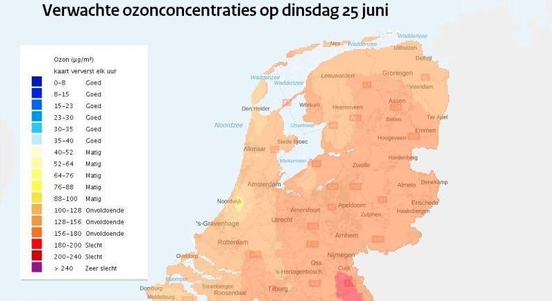 Hitteplan geldt ook voor Drenthe