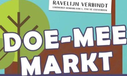 Doe-Mee-Markt in Ravelijn Verbindt