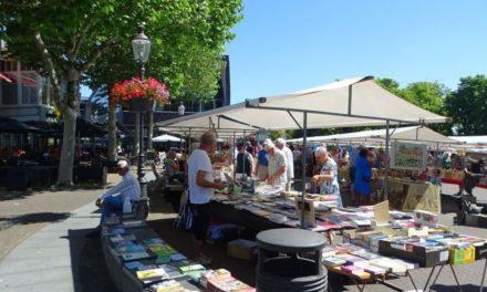 Boekenmarkt is weer publiekstrekker