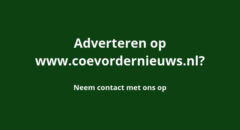 Adverteren op Coevorder Nieuws