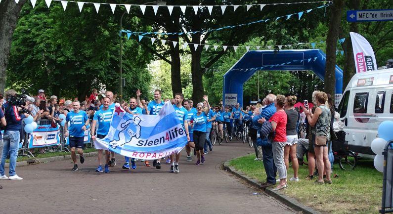 Noordelijke route Roparun start in Bremen