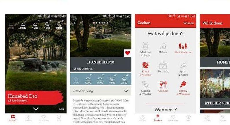App Doen in Drenthe maakt inwoners en toeristen wegwijs