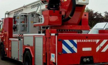 Brand in schuur Zaadvenenweg