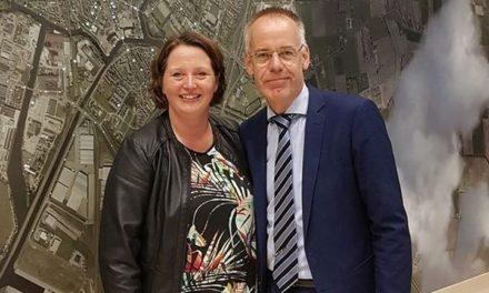 Raad neemt afscheid van Gertjan Zuur en Karin Zwaan