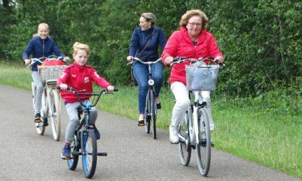 Dalen verwelkomt fietsers