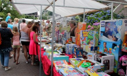 Zomermarkt in Gees is altijd in trek