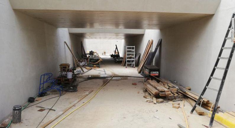 Werk aan tunnel vordert gestaag