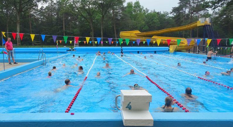 Bosbad Noord-Sleen houdt toch Zwem4Daagse