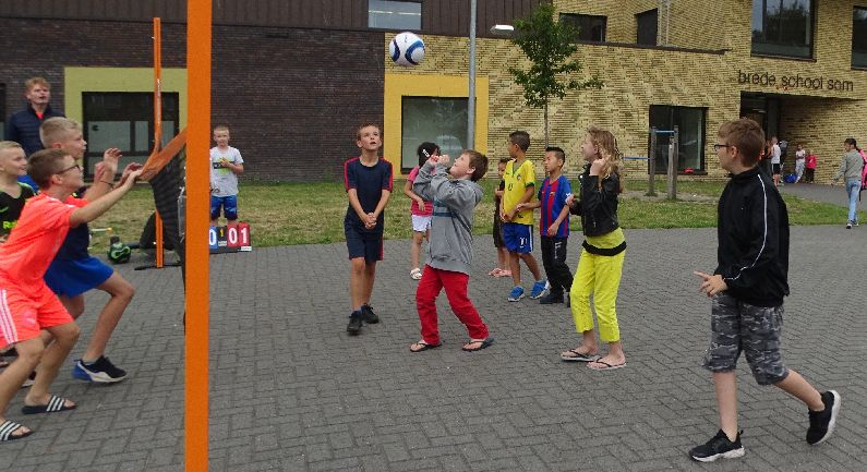 Brede School SOM biedt volop sport- en spelactiviteiten