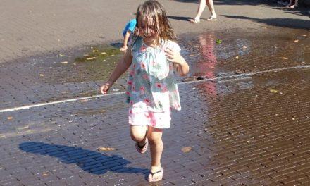 Water is het meest in trek op kindermiddag
