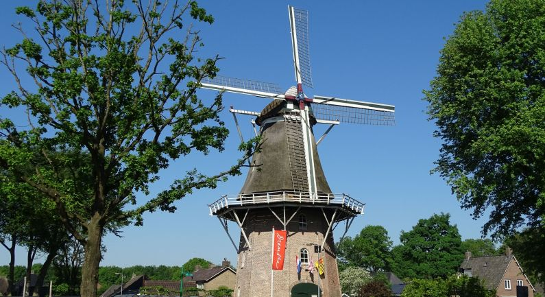 Molen Jan Pol is open op Drentse Molendag