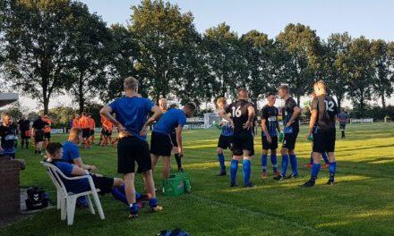 NKVV 1 wint eerste oefenwedstrijd