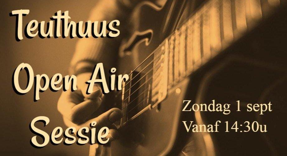 Teuthuus Open Air op zondag 1 september