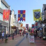 Fraaie vlaggen sieren centrum voor ridderdag