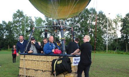 Klanten Jumbo maken ballonvaart