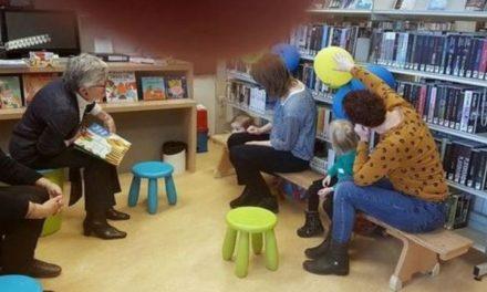 Bibliotheken houden weer BoekStartuurtjes
