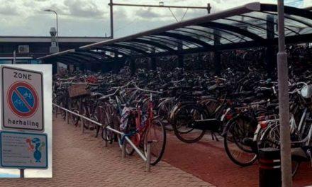 Gemeente blijft controleren op fietsen, maar schort handhaving op