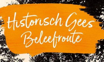 Wandelroute Historisch Gees krijgt officiële opening