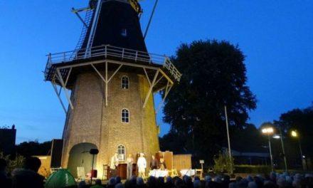 'Opa Ziedspan' te zien bij molen Jan Pol