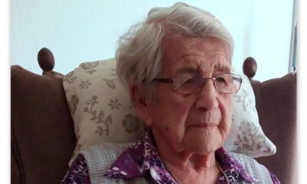 Mevrouw Roseboom (oudste inwoner Drenthe) overleden