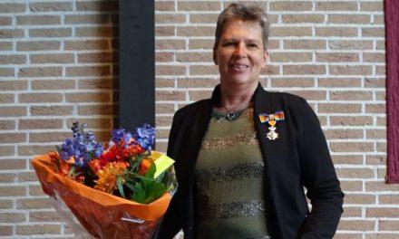 Annet Veuger koninklijk onderscheiden