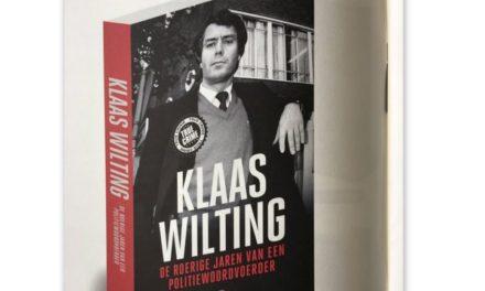 Klaas Wilting presenteert boek in De Kiel