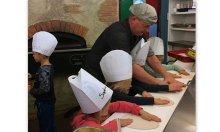 Leerlingen Stidalschool: pizzabakkers in de dop