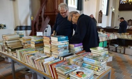 Opbrengst boeken- en najaarsmarkt is voor de kerk