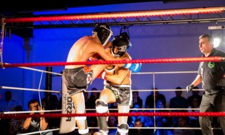 Jaron Smit wint Fight Night