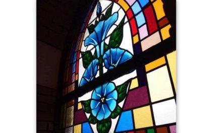 Nieuwe ramen in Franciscuskerk