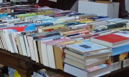 Boekenmarkt in Gansehof