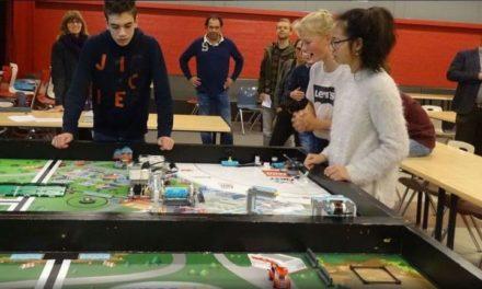 Vier teams van scholengroep Dalen doen mee aan First Lego League