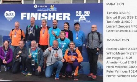 Lopers Codac voltooien marathon