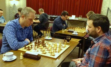 Ook de schakers konden aan de bak