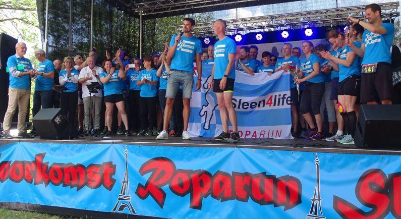 Sleen4life houdt informatiebijeenkomst over Roparun
