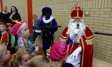 Sint vereert Sleen met bezoek