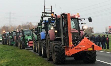 Boeren demonstreren ook in Wachtum