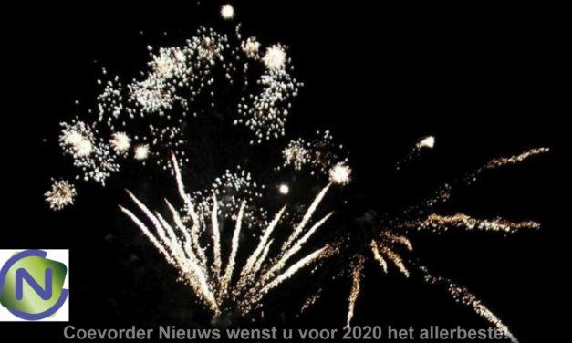 Coevorder Nieuws wenst u een veilige jaarwisseling en een goed 2020!