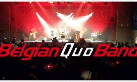 Belgian Quo Band treedt op in Oale Jan