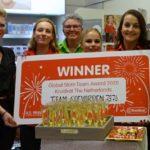 Kruidvat EDS-plein wint award voor beste team