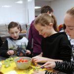 Parkschool kookt gezond