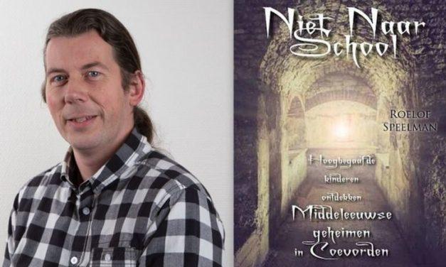 Roelof Speelman presenteert boek 'Niet naar school'