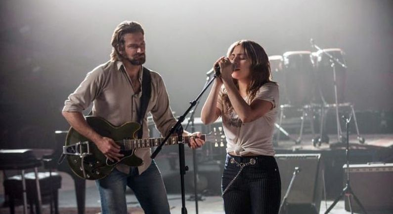 Film 'A star is born' in Theater Hofpoort; aanbieding arrangement