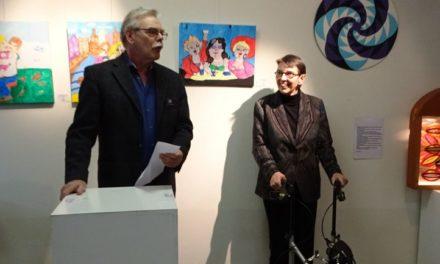Jetta Klijnsma opent expositie Kunst op Vijf