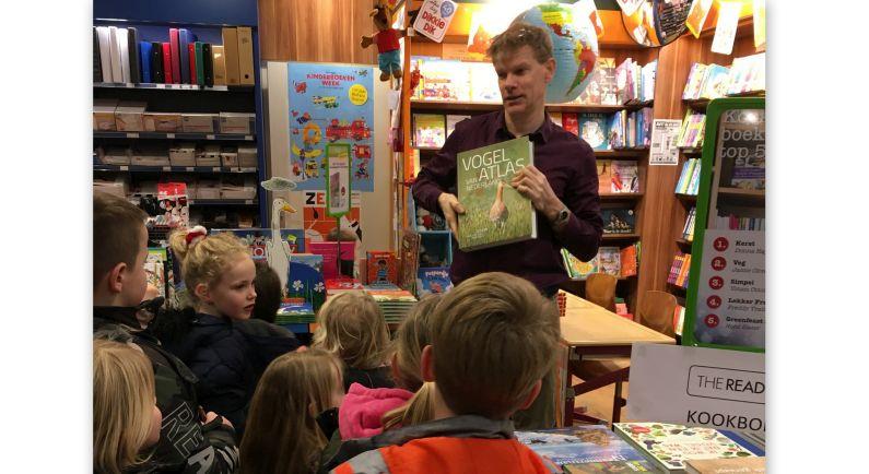 Stidalschool leert van alles over de boekwinkel