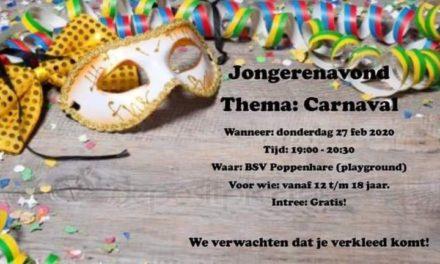 Carnaval voor jongeren
