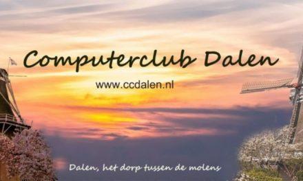 Computerclub Dalen houdt tabletcafé