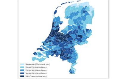 Gemiddelde verkoopprijs woning in gemeente Coevorden 236.000 euro
