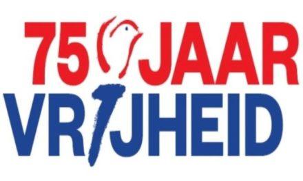 Viering 75 jaar vrijheid vindt plaats in april 2021